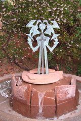 sedona_art_01 (cappuccinojunkie) Tags: arizona art fountain sedona sedonaarizona sedonaaz sedonaart