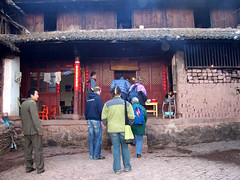 walking up to the house (cultureshock013) Tags: china village minority bai