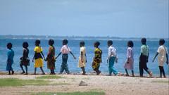 Single File (Coquine!) Tags: school kids walking children searchthebest kinder line senegal dakar goree schulklasse gänsemarsch