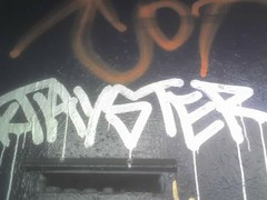 Tayster (PillClinton) Tags: cameraphone sanfrancisco graffiti tay tayone tayster
