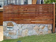 Rock wall and timber fence, Brisbane inner west (Craig McC) Tags: fence brisbane paddington retainingwall