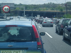 Atasco = Madrid (uayebt) Tags: madrid traffic jam atasco trafic trafico m30 embus