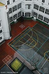 Bilbao Schoolyard (JMichaelSullivan) Tags: mamiya 2004 hotel spain bilbao m7 schoolyard mamiya7 mjsfoto1956