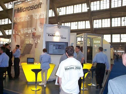 Microsoft booth