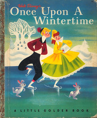 Once Upon A Wintertime (wardomatic) Tags: illustration vintage book disney retro wintertime childrensbook retrokid melodytime