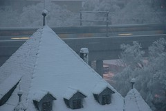 snow train (Dreamer7112) Tags: snow 20d schweiz switzerland europe suisse canon20d zurich canoneos20d snowing zrich svizzera winterwonderland eos20d zurigo limmatwest latemarchsnow