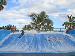 The Flowrider (roddh) Tags: park hawaii surf oahu surfing adventure hawaiian waters flowrider roddh