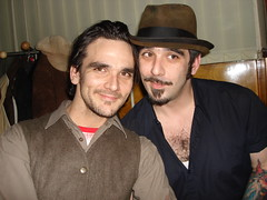 Brothers (individual8) Tags: berlin hat germany march chesthair 2006 zentralerandlage