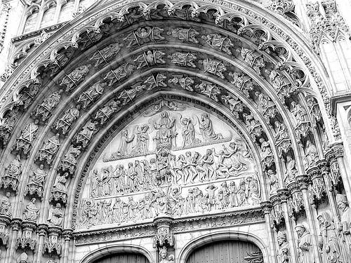Portico de la catedral de Amberes