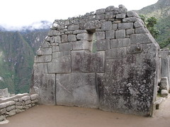Wall at Machu Picchu