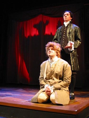 Salieri Torments Amadeus