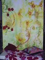 ...les fleurs aussi parlent... (Petite Poupe7) Tags: art myjob decorao santateresa loveisdivine lamourestdivin bypp7 femaleattack chezju decomju pintando7