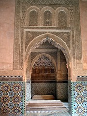 Saadian tombs - Marrakech 888 (The Seventh Veil) Tags: architecture morocco marrakech islamic