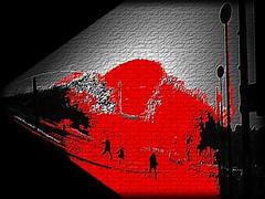 L'homme aux cheveux gris ... (Michel Craipeau) Tags: red black france canon rouge gris poetry kevin noir 2006 frenchpoetry michel aux 1000 1000views nad cheveux powershotpro1 lhomme bronly dstructurationfrench craipeau craipeaumichel defidefi