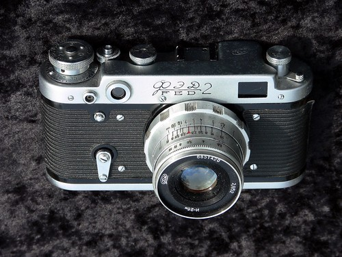 Fed 2 rangefinder camera - Jimmy Smith