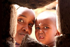 mother and son (adritzz) Tags: africa travel portraits saveme 500v20f desert deleteme10 tribal aid nomads thirdworld 84points mireasrealm analiza4549 analiza9 theexhibit