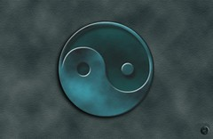 Ying & yang (Christian Bachellier) Tags: photoshop bryce création