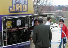 Biodiesel Bus ([Creative Services]) Tags: blunt cisat goodlatte