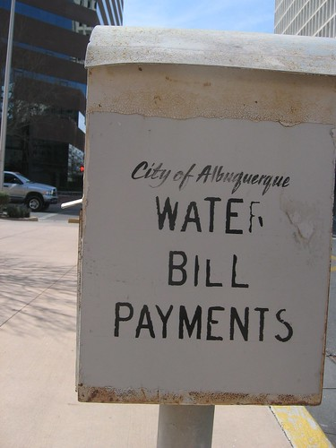 Water Bill Payment Box