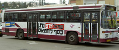 Smallmert gave money (eyair) Tags: bus israel politics haifa elections ישראל חיפה אוטובוס בחירות פוליטיקה ashmashashmash