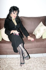 Sit with me (Christine Fantasy) Tags: feminine makeup christine fantasy transvestite crossdresser transsexual shemale