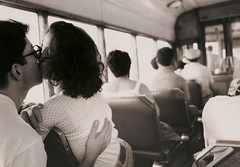 Lisbon kiss (Roby1kenobi) Tags: people bw love topf25 loving nikon kissing lisbon caughtintheact fm onthebus peopleportraits nikonstunninggallery roby1kenobi lljp8 robertomignanego httpwwwrobertomignanegocom