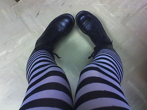 new boots, old tights