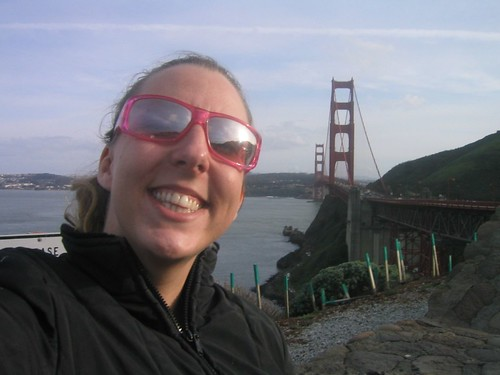 Tori at Golden Gate