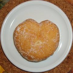 I love doughnuts! (janerc) Tags: heart doughnut squaredcircle