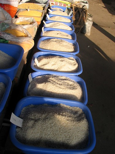 Rice, rice and more rice!