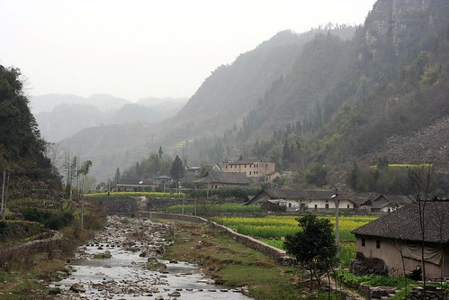 The Chexi Canyon countryside
