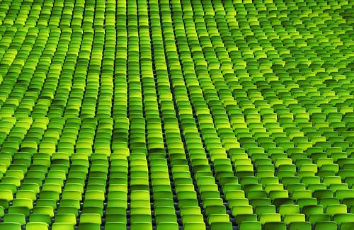sillas verdes Munich