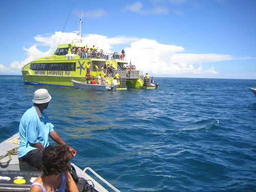 buceo como las islas Mamanuca en Fiji