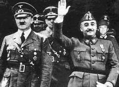 Franco, amigo de Hitler (J Kresve) Tags: espaa spain nazi hitler terrorism espagne franco spanishcivilwar avt terrorismo fascista guerracivil franquismo casposo hendaya memoriahistrica fascio rancio golpedeestado vctimasdelterrorismo
