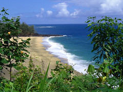 Kauai (Haiku Heidi) Tags: ocean blue beach heidi hawaii pacific maui kauai haikuheidi