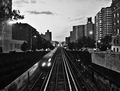 Tren número 1, en Harlem, a la altura de la calle 122