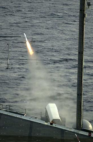 Navy RAM RIM-116 missile fire 2