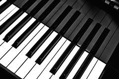 silence (Martina Chiarato) Tags: silence black white bw bn bianco e nero piano pianoforte play do re mi fa sol la si music milan rho riflesso reflection mirror musician suonatore silenzio