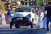 White Lightning (Thumpr455) Tags: southeastgassers finals greerdragway greer sc november 2016 dragracing autoracing car auto automobile speed competition action whitelightning chevy chevrolet moonshiner 1953 joshowens burnout afnikkor70200mmf28vrii d5500 nikon moonshiners