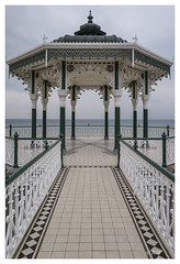 L1110791 (robert.french57) Tags: d68 brighton bandstand birdcage sea coast seaside white 1884 bob robert french leica q 2016 seascape