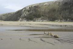 limestone cliffs (escher is still alive) Tags: beach sand mud cumbria limestone quicksand morecambebay humphreyhead