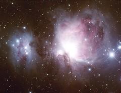 Orion Nebula (-mrh) Tags: astrophotography orion m42 sbig m43 ngc1977 st2000xme e130