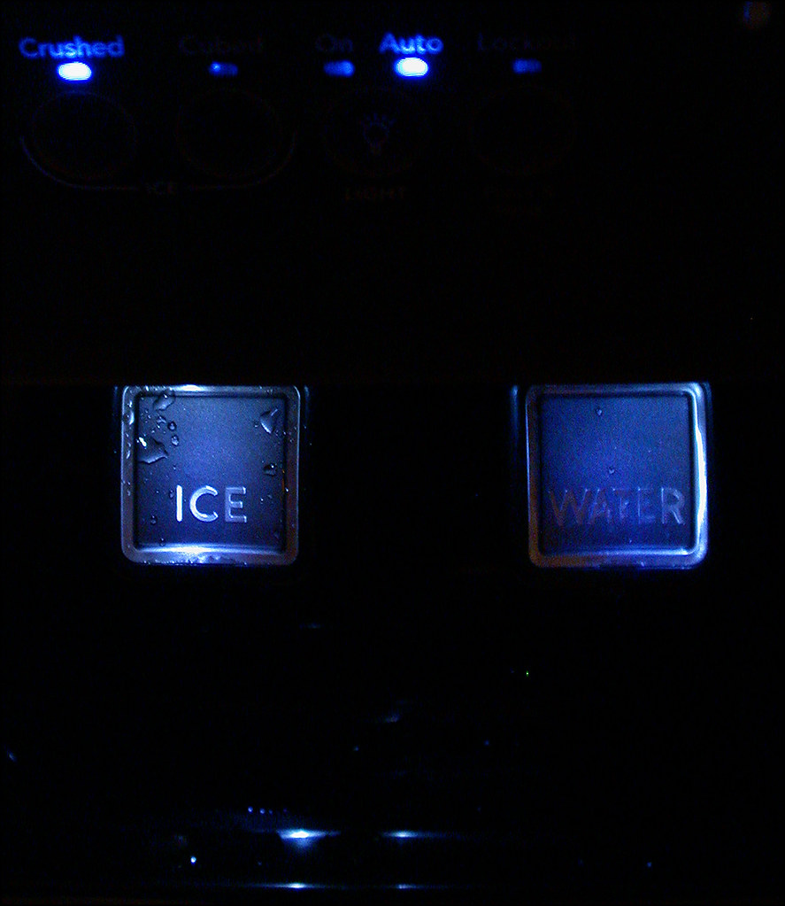 ICE....   WATER...