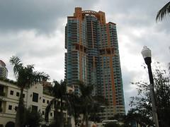 Condos, South Beach, Miami, Florida (hanneorla) Tags: 2003 beach architecture modern florida miami south artdeco condos miamibeach neons downtownmiami hanneorla guardshuts