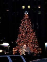 Rockefeller Center (icequeen057) Tags: newyork 2005 nyc ny rockefellercenter night lights tree