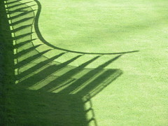 Rotterdam 2005 (TheMachineStops) Tags: green grass rotterdam shadow netherlands symmetry lawn holland nederland mathematic dutch 2005 fv5 nl vacation travel europe eu geometric geometrie geometry asymmetrya minimalism views1000