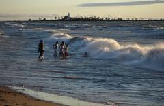 at South Street Beach, Southampton (Craig James White) Tags: southampton saugeenshores beach sunset ontario canada lakehuron waves lighthouse chantryisland