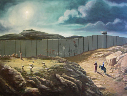 Bethlehem 3 (by Banksy) by FredR, on Flickr