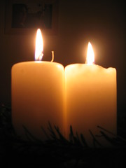 Advent wreath (poetwee) Tags: advent candles adventwreath fire religion pyrotechnics
