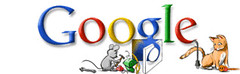 Google Logo-Winter Holiday 2005 #4